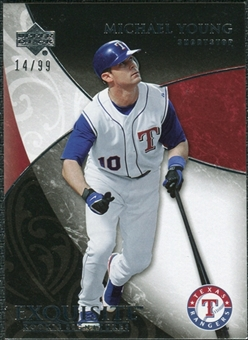 2007 Upper Deck Exquisite Collection Rookie Signatures #59 Michael Young /99