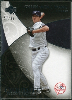 2007 Upper Deck Exquisite Collection Rookie Signatures #85 Chien-Ming Wang /99