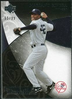 2007 Upper Deck Exquisite Collection Rookie Signatures #87 Mariano Rivera /99