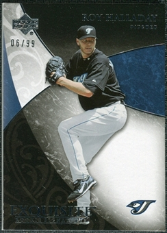 2007 Upper Deck Exquisite Collection Rookie Signatures #99 Roy Halladay /99