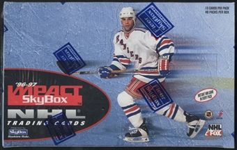 1996/97 Skybox Impact Hockey Retail Box