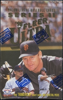1996 Fleer Ultra Series 2 Baseball Retail Box