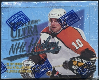 1996/97 Fleer Ultra Hockey Retail Box