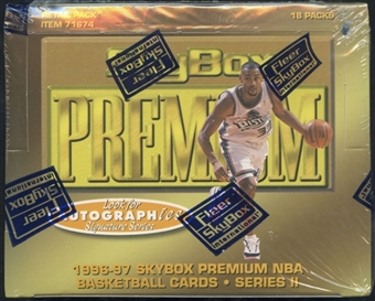 1996/97 Skybox Premium Series 2 Basketball Retail Box