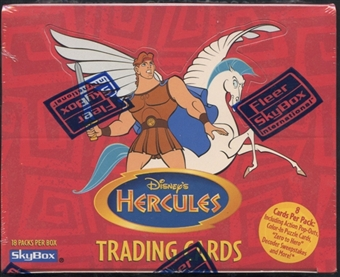 Disney Hercules Retail Box (1997 Fleer/Skybox)