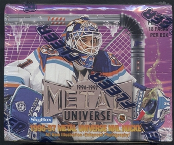 1996/97 Fleer Metal Universe Hockey Retail Box