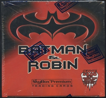 Batman and Robin Retail Box (1997 Skybox Premium)