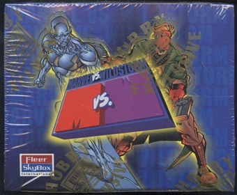 Marvel Vs. Wildstorm Hobby Box (1997 Skybox)