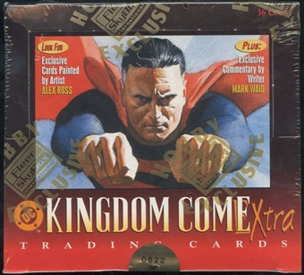 DC Kingdom Come Extra Hobby Box (1996 Skybox)