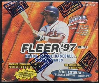 1997 Fleer Series 2 Baseball Retail Box