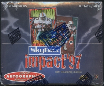 1997 Skybox Impact Football Retail Box