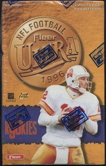 1996 Fleer Ultra Football Retail Box