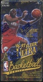 1996/97 Fleer Ultra Series 1 Basketball Retail Loader Box