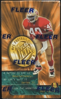 1995 Fleer Ultra Series 2 Football Retail Box
