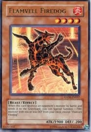 Yu-Gi-Oh Ancient Prophecy Single Flamvell Firedog Rare