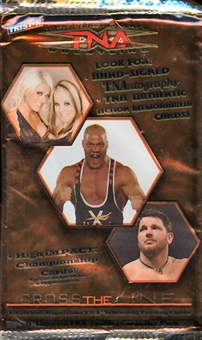 2008 Tristar TNA Cross the Line Wrestling Pack (Lot of 24)