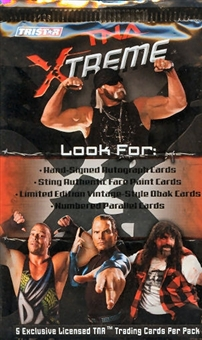 2010 TriStar TNA XTREME Wrestling Pack (Lot of 24)