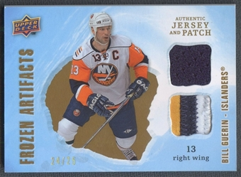 2008/09 Artifacts #FADBG Bill Guerin Frozen Artifacts Jersey Patch Gold #24/25