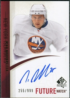 2010/11 Upper Deck SP Authentic #264 Nino Niederreiter RC Autograph /999
