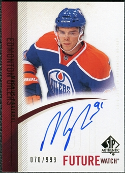 2010/11 Upper Deck SP Authentic #279 Magnus Paajarvi RC Autograph /999