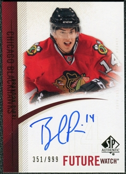 2010/11 Upper Deck SP Authentic #286 Brandon Pirri RC Autograph /999