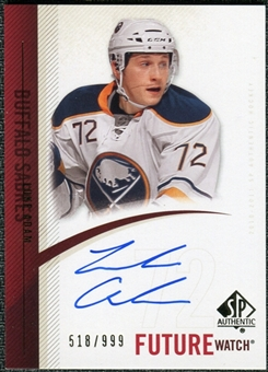 2010/11 Upper Deck SP Authentic #287 Luke Adam RC Autograph /999