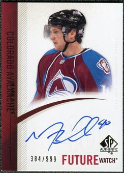 2010/11 Upper Deck SP Authentic #291 Mark Olver RC Autograph /999