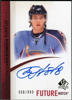 2010/11 Upper Deck SP Authentic #305 Alexander Burmistrov RC Autograph /999