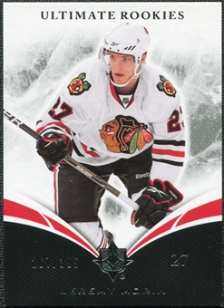2010/11 Upper Deck Ultimate Collection #68 Jeremy Morin RC /399