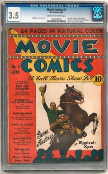 Movie Comics #3 CGC 3.5 (C-OW) *1269286002*