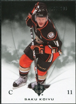 2010/11 Upper Deck Ultimate Collection #2 Saku Koivu /399