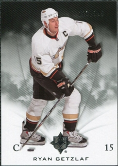 2010/11 Upper Deck Ultimate Collection #3 Ryan Getzlaf /399