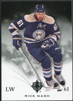 2010/11 Upper Deck Ultimate Collection #18 Rick Nash /399