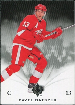 2010/11 Upper Deck Ultimate Collection #21 Pavel Datsyuk /399