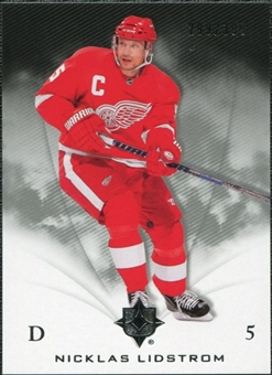 2010/11 Upper Deck Ultimate Collection #23 Nicklas Lidstrom /399