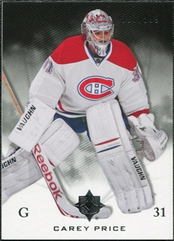 2010/11 Upper Deck Ultimate Collection #31 Carey Price /399