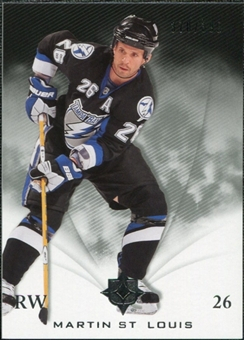 2010/11 Upper Deck Ultimate Collection #52 Martin St. Louis /399
