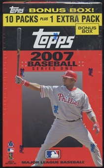 2007 Topps Series 1 Baseball Blaster Box