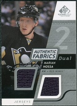 2008/09 Upper Deck SP Game Used Dual Authentic Fabrics #AFHM Marian Hossa