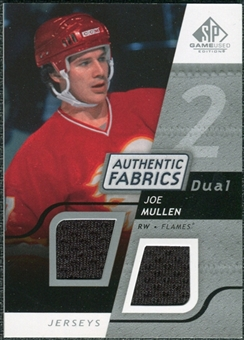2008/09 Upper Deck SP Game Used Dual Authentic Fabrics #AFJM Joe Mullen