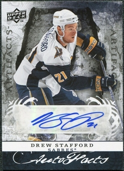 2008/09 Upper Deck Artifacts Autofacts #AFDR Drew Stafford Autograph