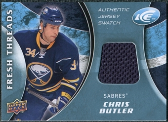 2009/10 Upper Deck Ice Fresh Threads #FTCB Chris Butler