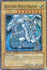 Yu-Gi-Oh Duel Terminal 1 Single Blue Eyes White Dragon Super Rare DT01