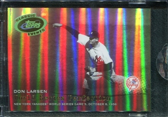 2005 eTopps Classic Events #CE2 Don Larsen /819