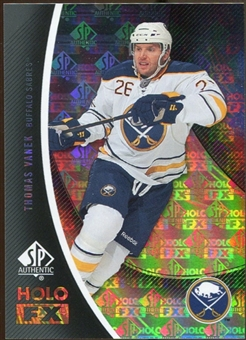 2010/11 Upper Deck SP Authentic Holoview FX #FX14 Thomas Vanek