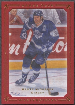 2008/09 UD Masterpieces #66 Marty McSorley Red #04/25