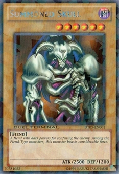 Yu-Gi-Oh Duel Terminal 5 Single Summoned Skull Rare DT05