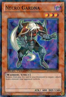 Yu-Gi-Oh Duel Terminal 5 Single Necro Gardna Common DT05