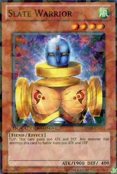 Yu-Gi-Oh Duel Terminal 5 Single Slate Warrior Common DT05