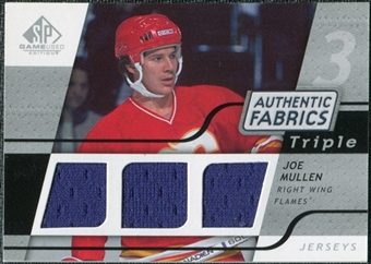 2008/09 Upper Deck SP Game Used Triple Authentic Fabrics #3AFJM Joe Mullen